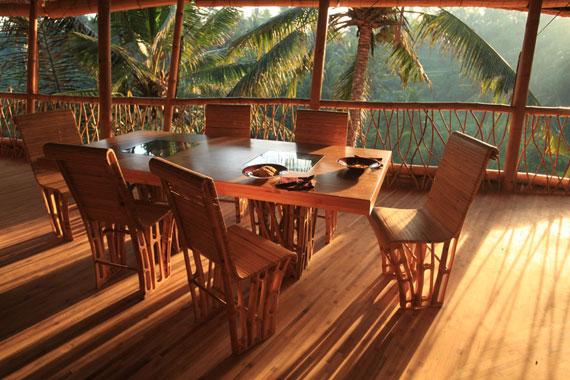 bal11 Miljövänliga hus som en del av en grön by på Bali Designad av Ibuku Studio