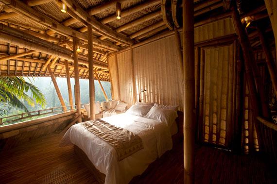 bal17 Miljövänliga hus som en del av en grön by på Bali Designad av Ibuku Studio