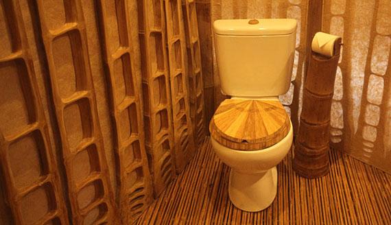 bal23 Miljövänliga hus som en del av en grön by på Bali Designad av Ibuku Studio