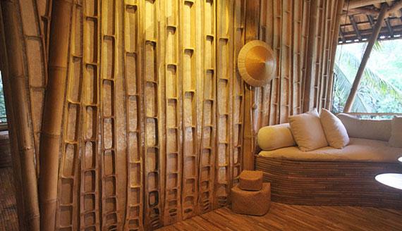 bal22 Miljövänliga hus som en del av en grön by på Bali Designad av Ibuku Studio