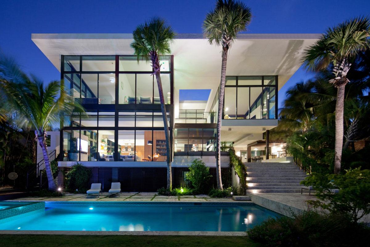 Coral-Gables-Residenz-von-Touzet-Studio House Architecture Gallery - Stor inspiration