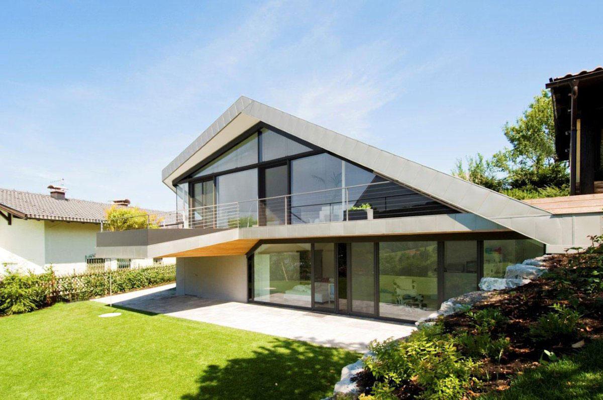 Haus-H-von-Smartvoll-Architekten-ZT-KG Hausarchitektur Galerie - Stor inspiration