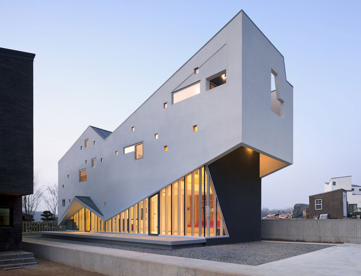 Visang House av MOON HOON house architecture gallery - stor inspiration