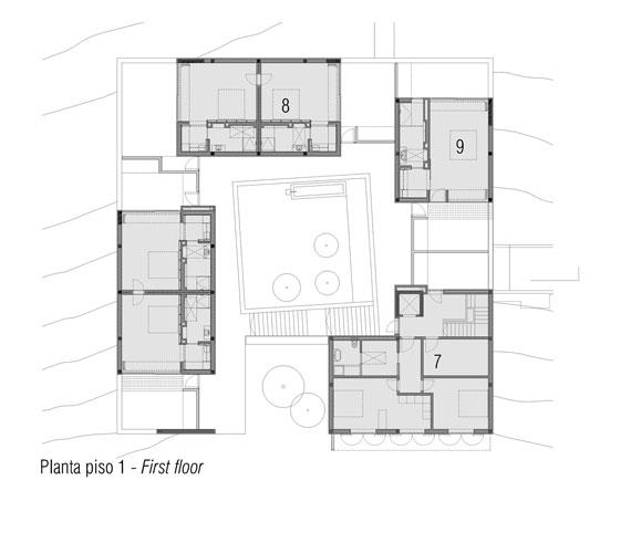casa15 Alla vita väggar Villa Extramuros i Arraiolos Designad av Vora Arquitectura