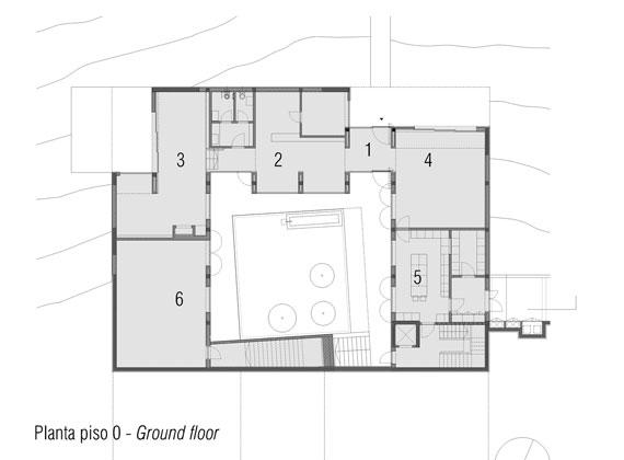 casa14 Alla vita väggar Villa Extramuros i Arraiolos Designad av Vora Arquitectura