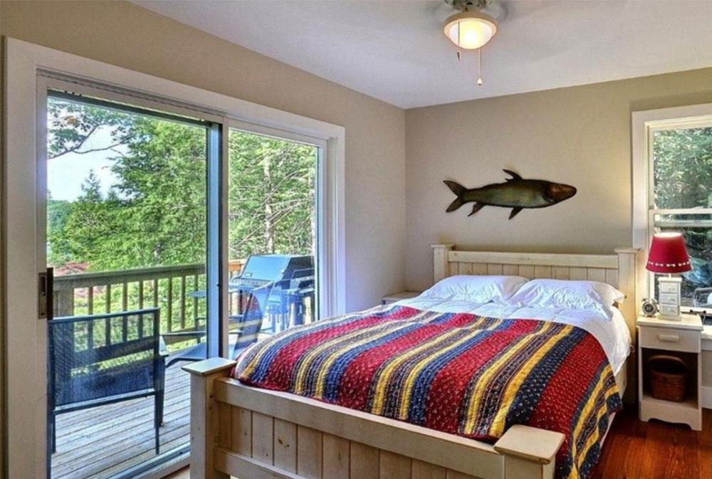 Guest-Bunkie-Lakeside-Bedroom-by-Clarke-Muskoka-Construction Bunkie Board: Vad det är och vanliga frågor om det