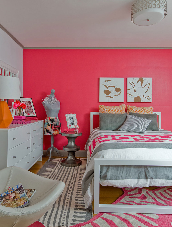 Pink-Interior-Design-für-alle8 Pink Interior Design för alla