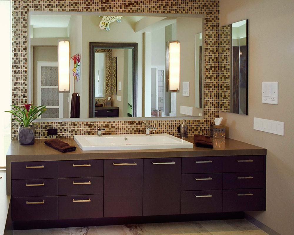Hur man använder mosaikplattor i ditt hem 10 Hur man använder mosaikplattor i ditt hem