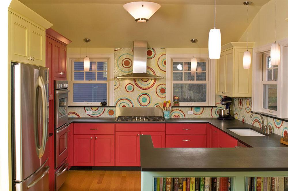 Hur man använder mosaikplattor i ditt hem 15 Hur man använder mosaikplattor i ditt hem