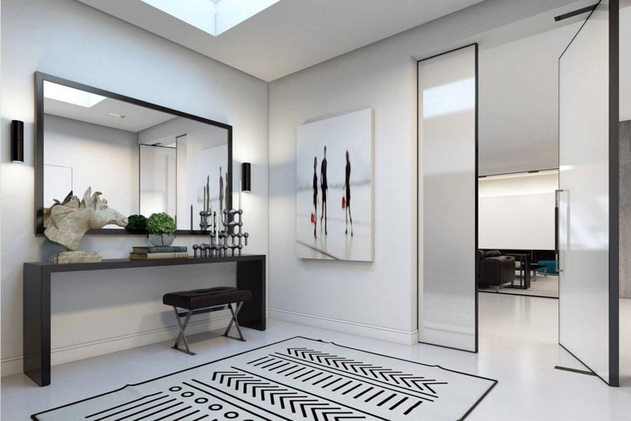 6 Imponerande visualisering av en snygg lägenhetinredning av Ando Studio