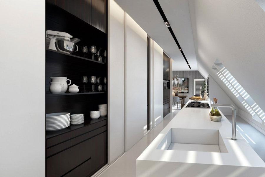 8 Imponerande visualisering av en elegant lägenhetsinredning av Ando Studio