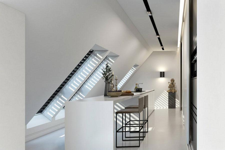 7 Imponerande visualisering av en snygg lägenhetinredning av Ando Studio