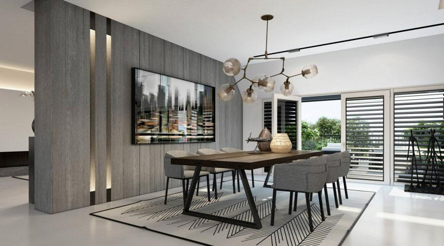 9 Imponerande visualisering av en snygg lägenhetinredning av Ando Studio