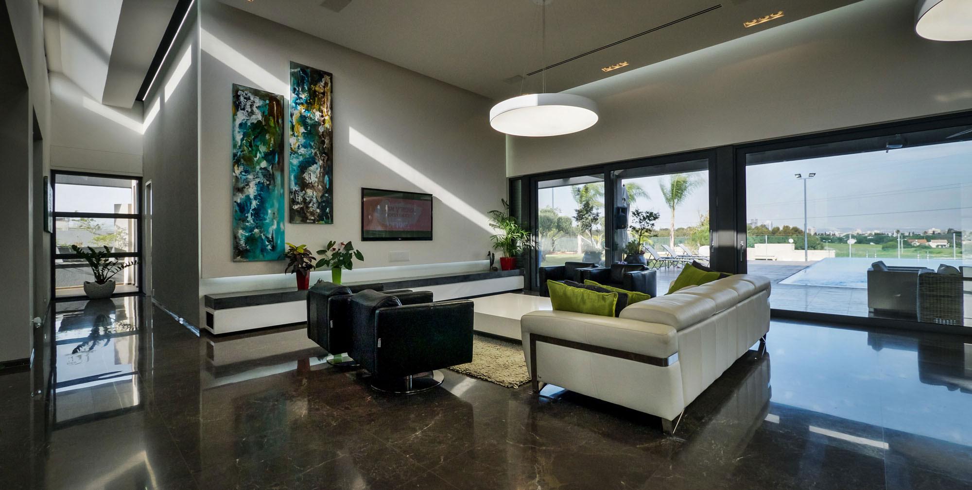 Lyxig-villa-med-en-samtida-design-från-Israel-5 Lyxig-villa-med-en-samtida-design från Israel