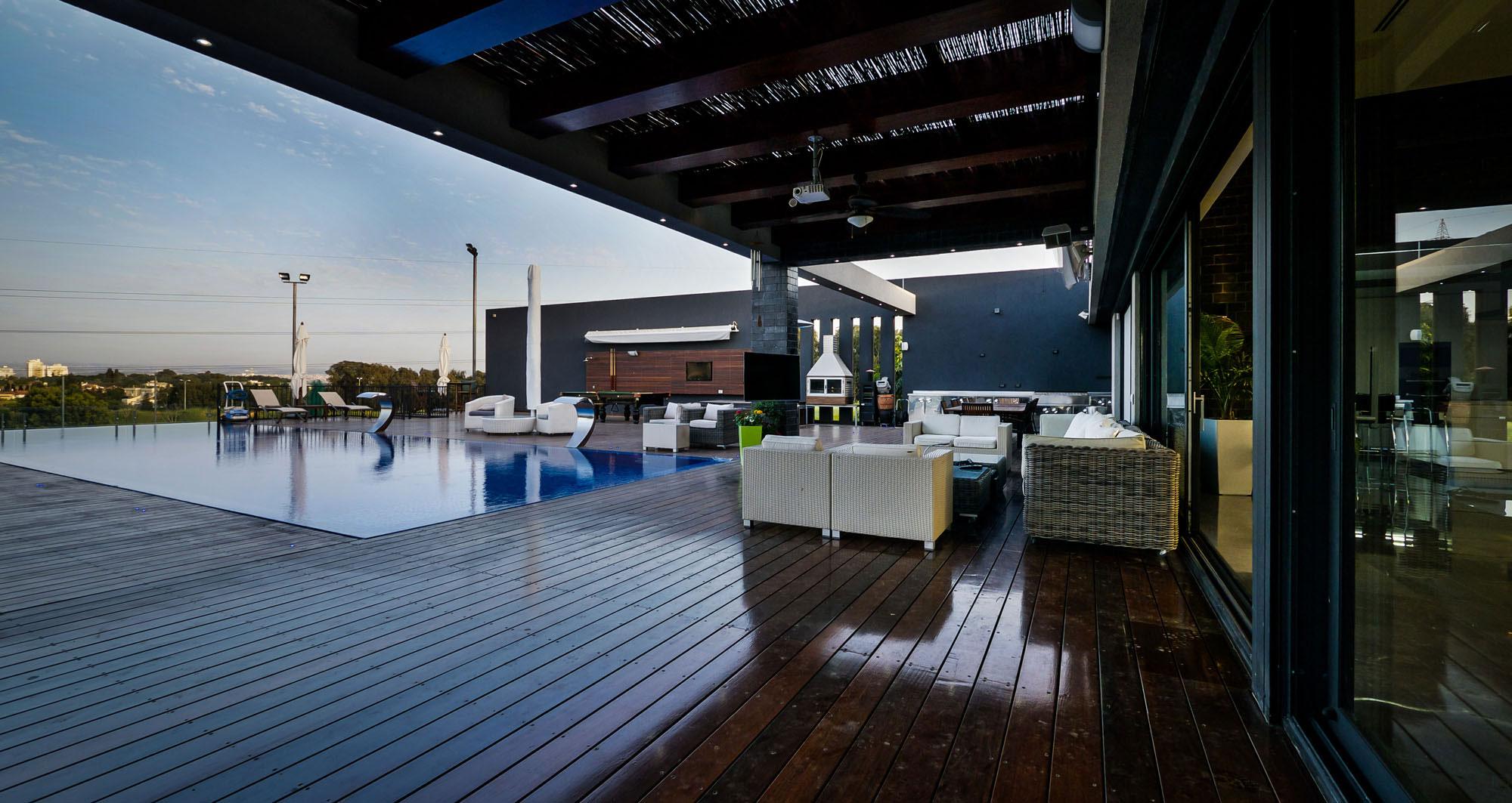 Lyxig villa-med-en-samtida-design-från-Israel-14 Lyxig villa-med en modern design från Israel
