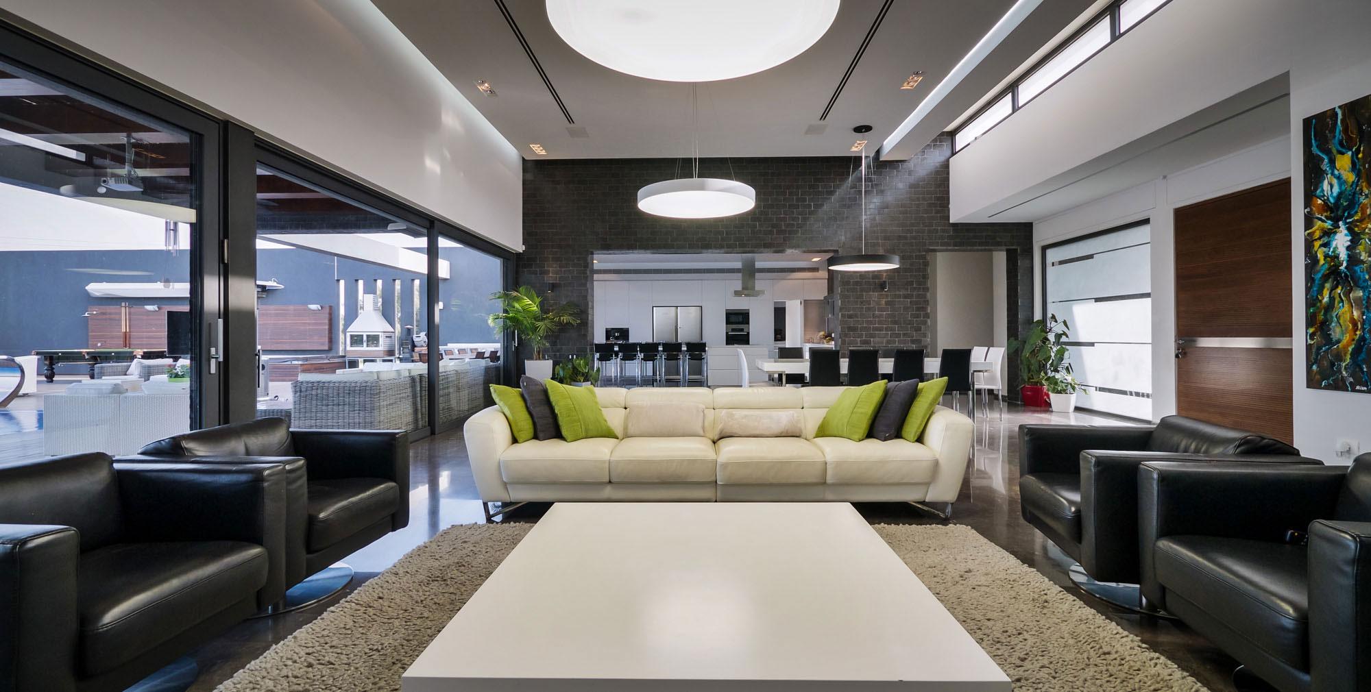 Lyxig villa-med-en-samtida-design-från-Israel-4 Lyxig-villa-med en modern design från Israel
