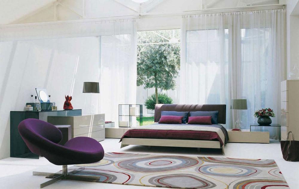 Massor av förvaringsutrymme i sovrummet Bra tips för att dekorera ditt sovrum