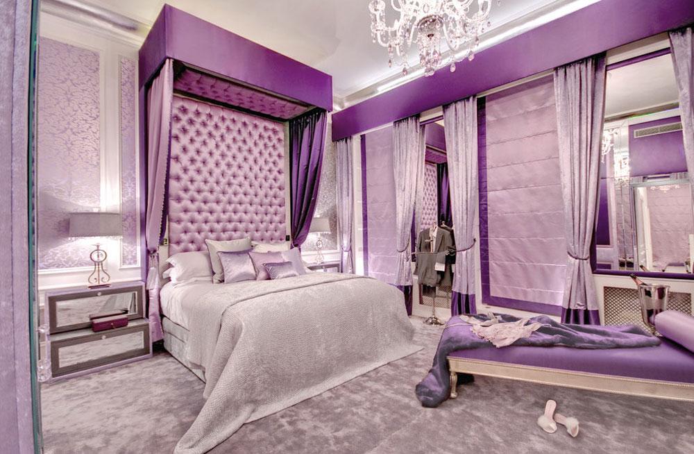 Unika färgscheman Bra tips för att dekorera ditt sovrum