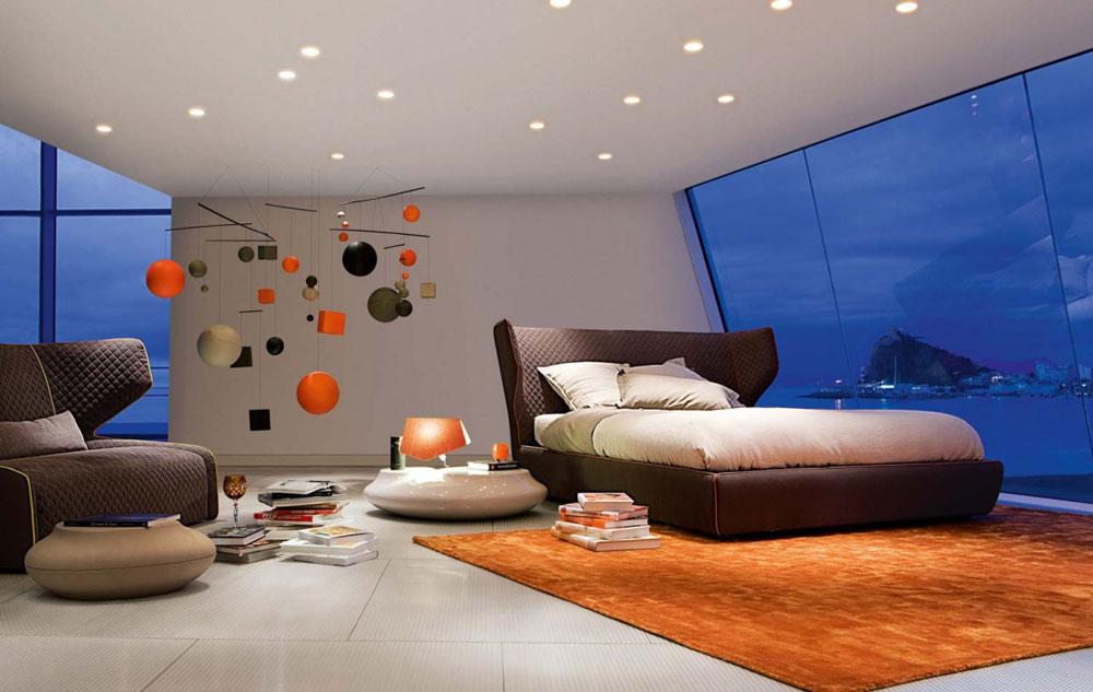 Fler ljusskikt Bra tips för att dekorera ditt sovrum