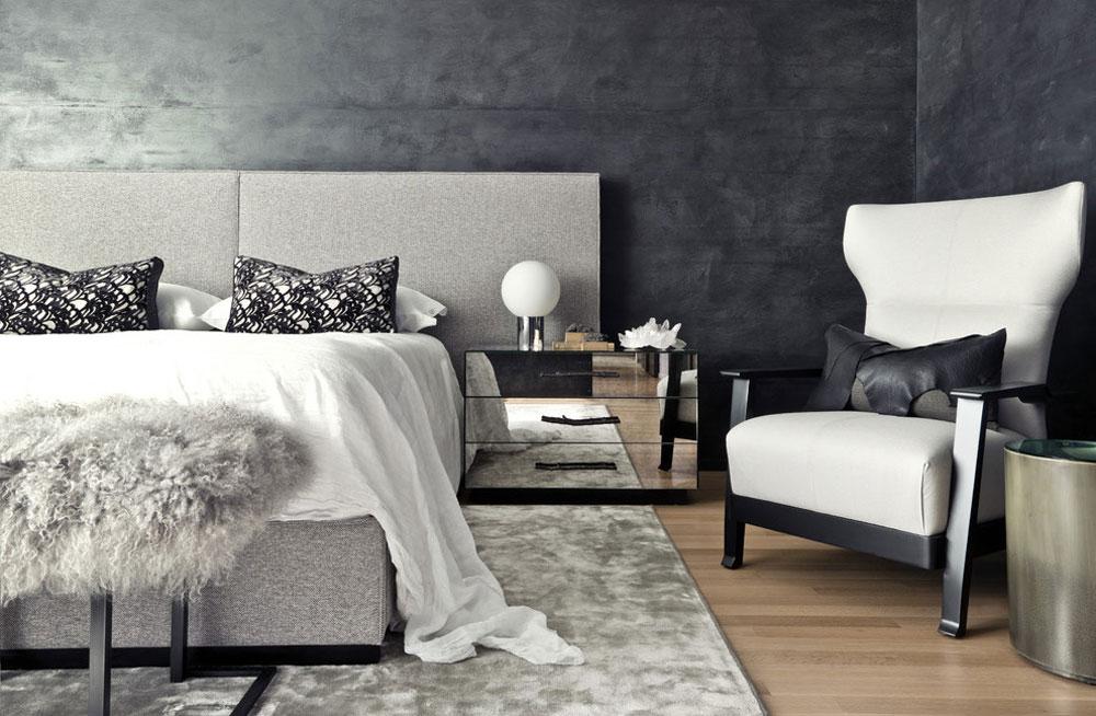The-Rug-Placering-In-A-Bedroom Bra tips för att dekorera ditt sovrum
