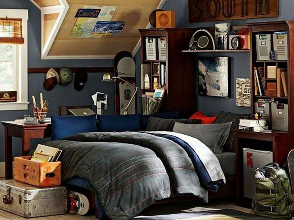 Teen Idéer för sovrumsdesign-12 Idéer för sovrumsdesign