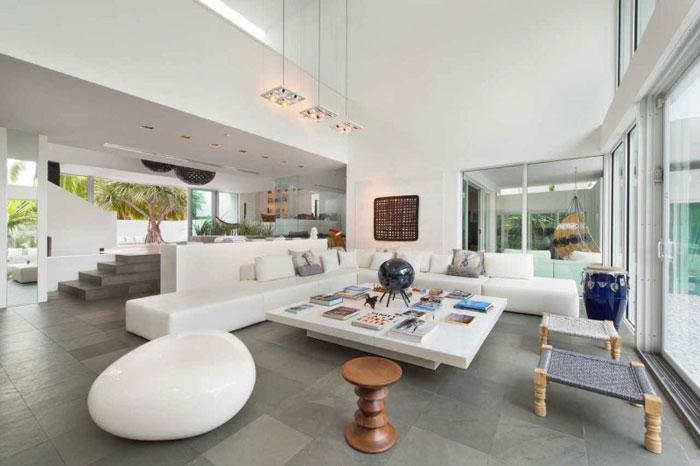 73200628890 Vackert och lyxigt, luftigt hem i Key Biscayne
