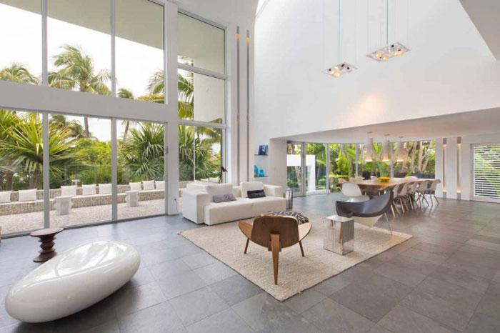 73200622809 Vackert och lyxigt luftigt hem i Key Biscayne