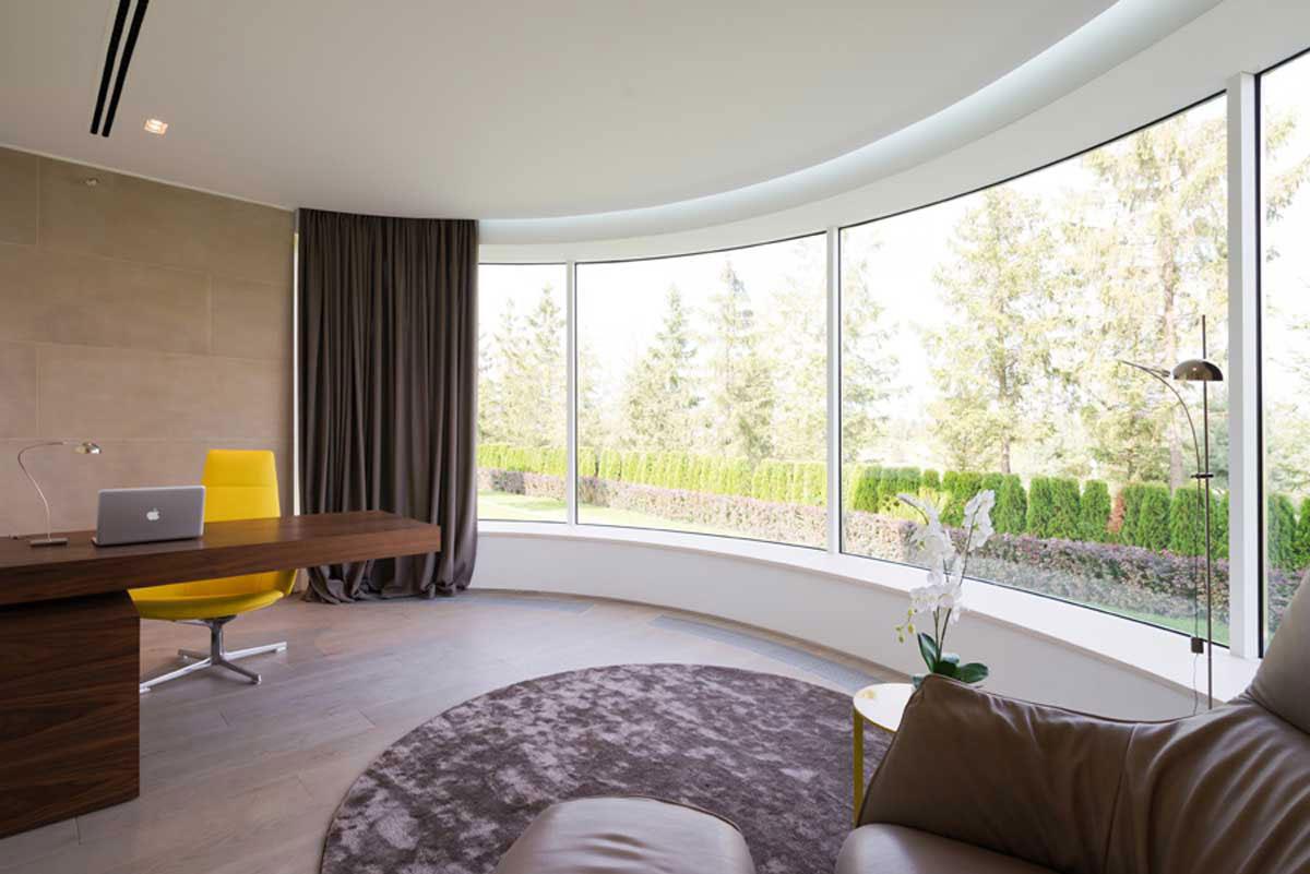 Modern villa nära Moskva, designad av SL-Project-15 Modern villa nära Moskva, designad av SL * Project