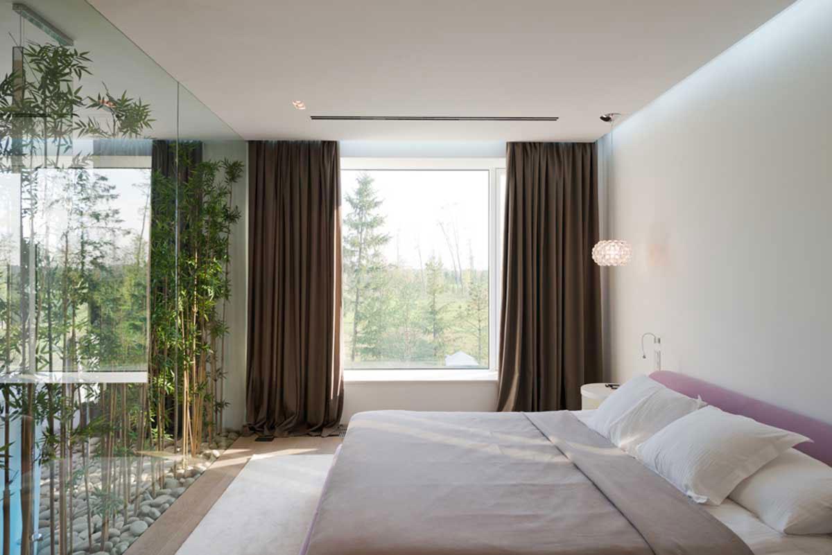 Modern villa nära Moskva, designad av SL-Project-21 Modern villa nära Moskva, designad av SL * Project
