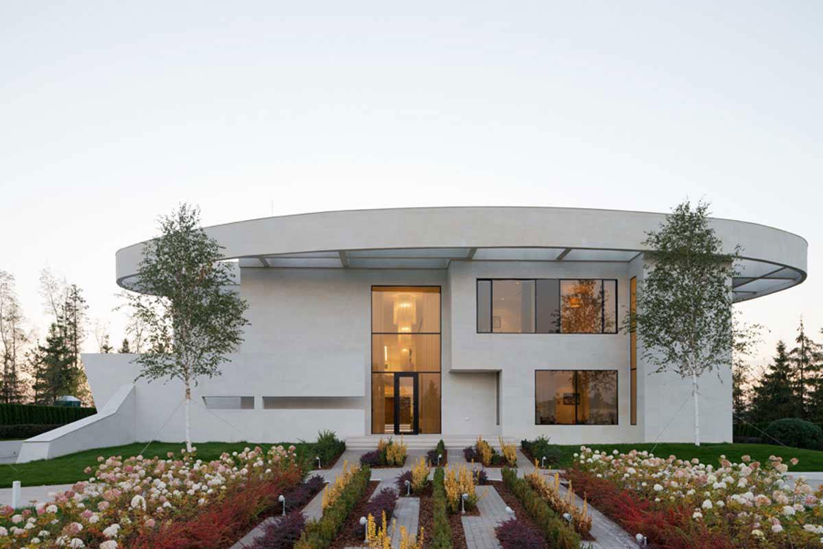 Modern villa nära Moskva, designad av SL-Project-2 Modern villa nära Moskva, designad av SL * Project