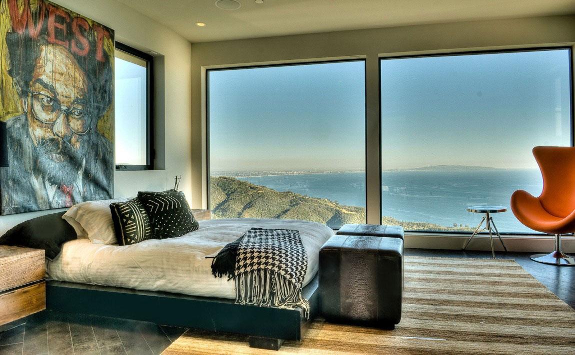 Bedövning Beach House i Malibu Beach, Kalifornien, 14 Bedövning Beach House i Malibu Beach, Kalifornien