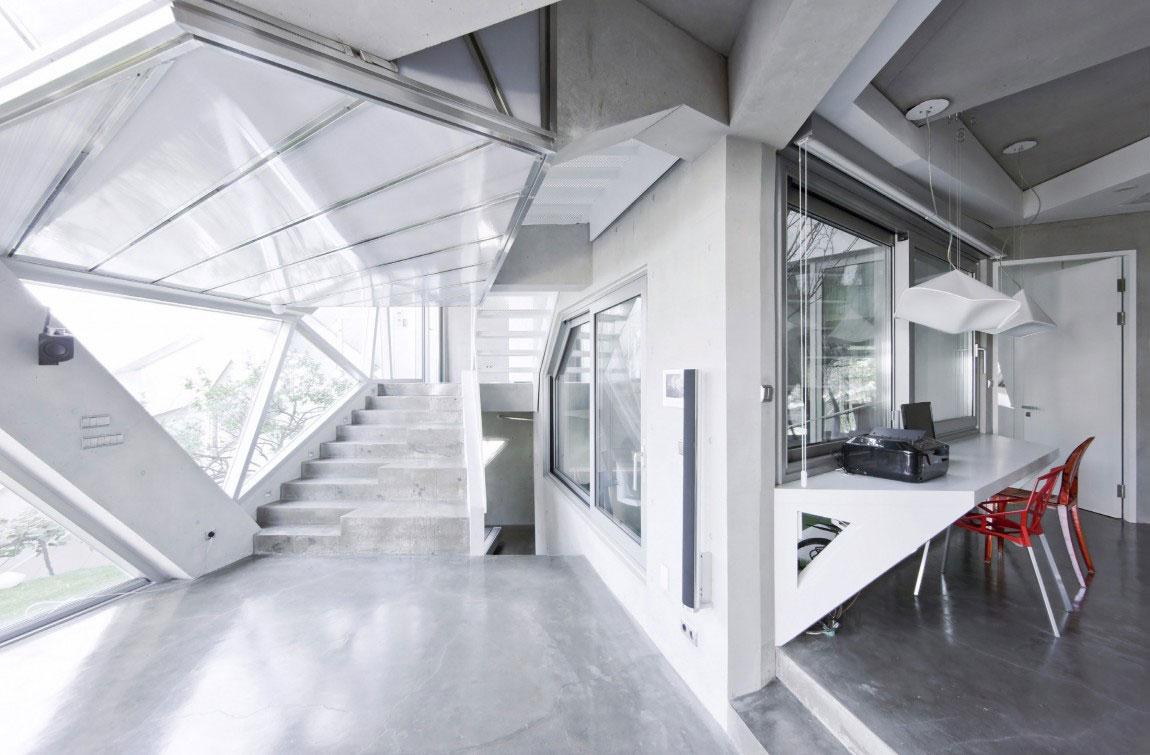 Det moderna Hwa Hun-huset, designat av IROJE-KHM-Architects-14 Det moderna Hwa Hun-huset, designat av IROJE KHM Architects
