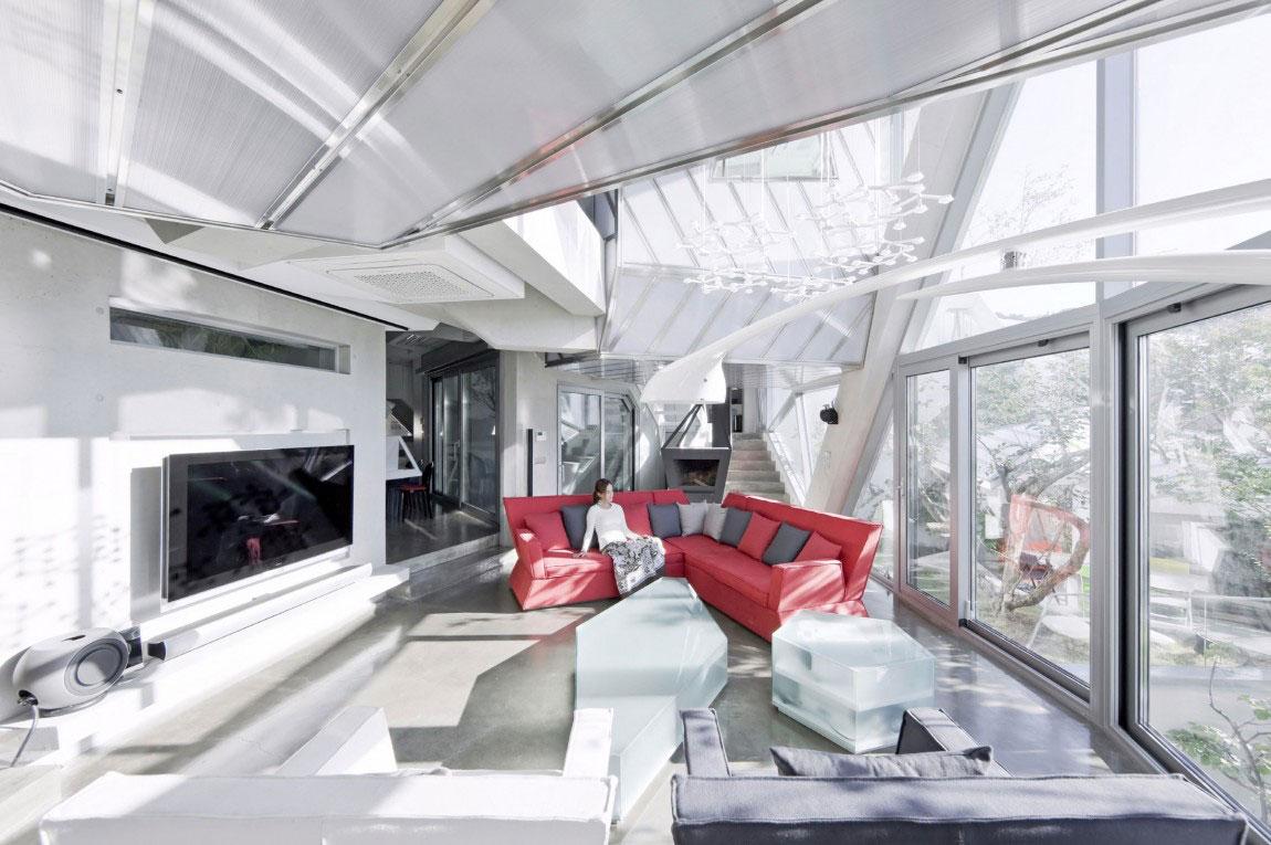 Det moderna Hwa-Hun-Haus, designat av IROJE-KHM-Architekten-10 Det moderna Hwa-Hunnen-Haus, designat av IROJE KHM Architekten
