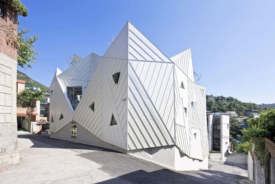Det moderna Hwa Hun-huset, designat av IROJE-KHM-Architekten-5 Det moderna Hwa Hun-huset, designat av IROJE KHM Architects