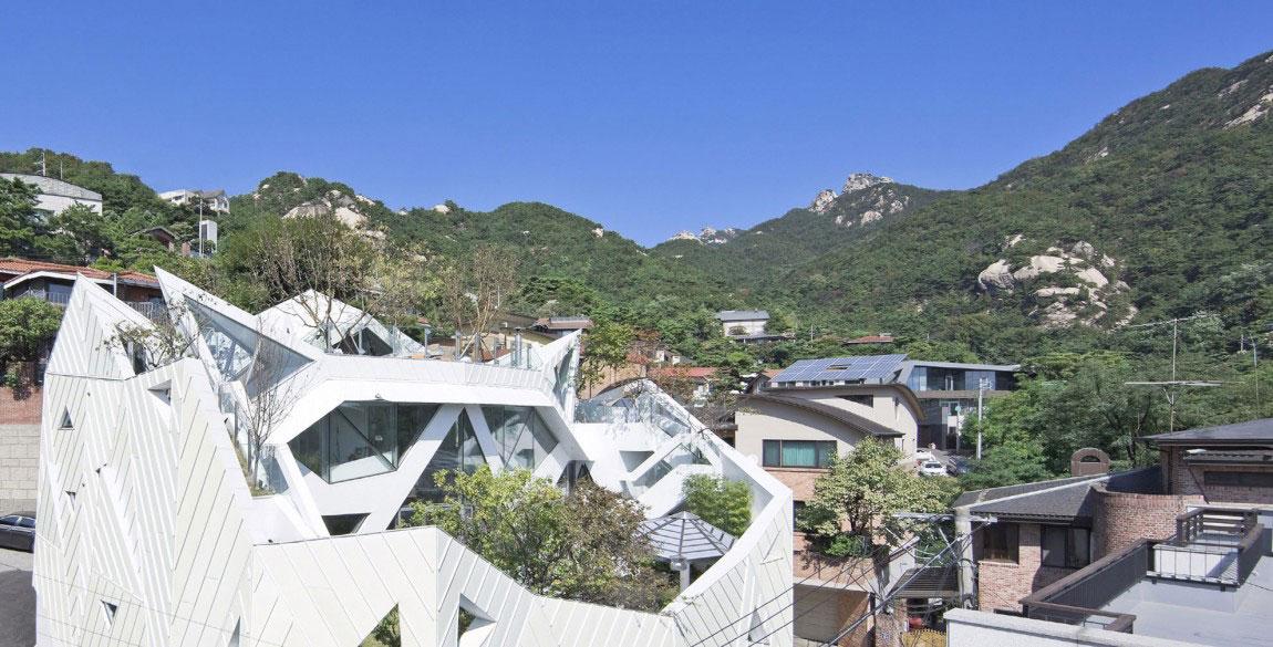 Det moderna Hwa Hun-huset, designat av IROJE-KHM-Architekten-3 Det moderna Hwa Hun-huset, designat av IROJE KHM Architects