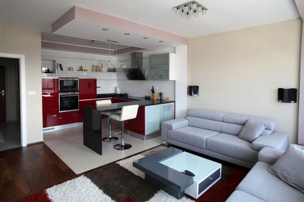 Arkitektur-modern-lägenhet Uppgradera din lägenhet till din stil