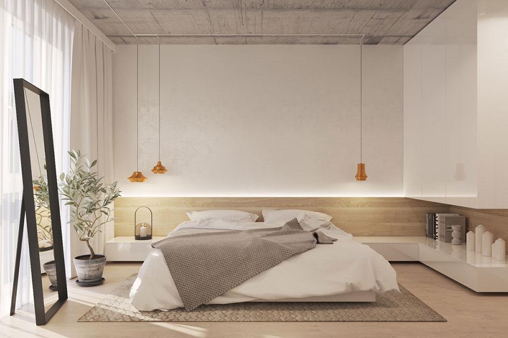 Trä & vitt minimalistiskt sovrum 9 sätt att sälja ditt hem snabbt