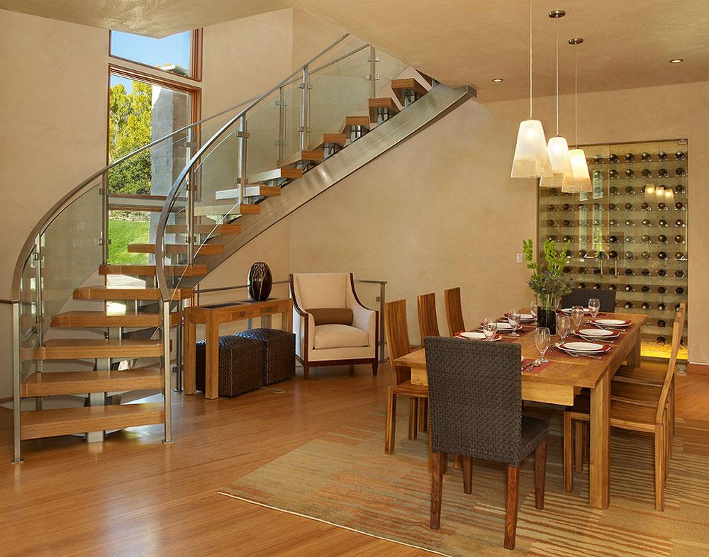 Modern matsal bambu golv fördelar och nackdelar