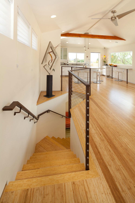 modern trappa bambu golv fördelar och nackdelar