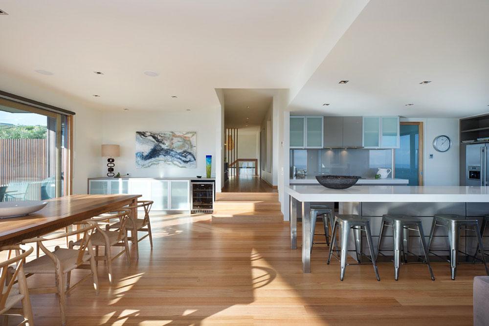 Moderna matsal bambu golv fördelar och nackdelar