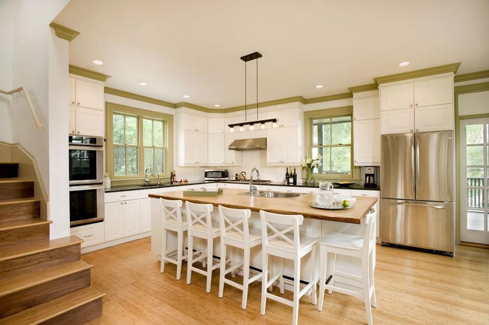 moderna kök bambu golv fördelar och nackdelar
