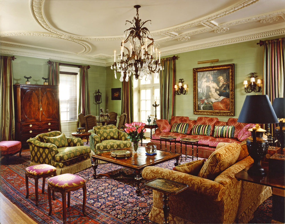 Lysande gröna nyanser för ditt vardagsrum 14 lysande gröna nyanser för ditt vardagsrum