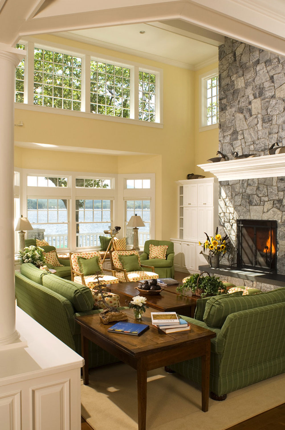 Strålande nyanser av grönt för ditt vardagsrum4 Briljanta nyanser av grönt för ditt vardagsrum