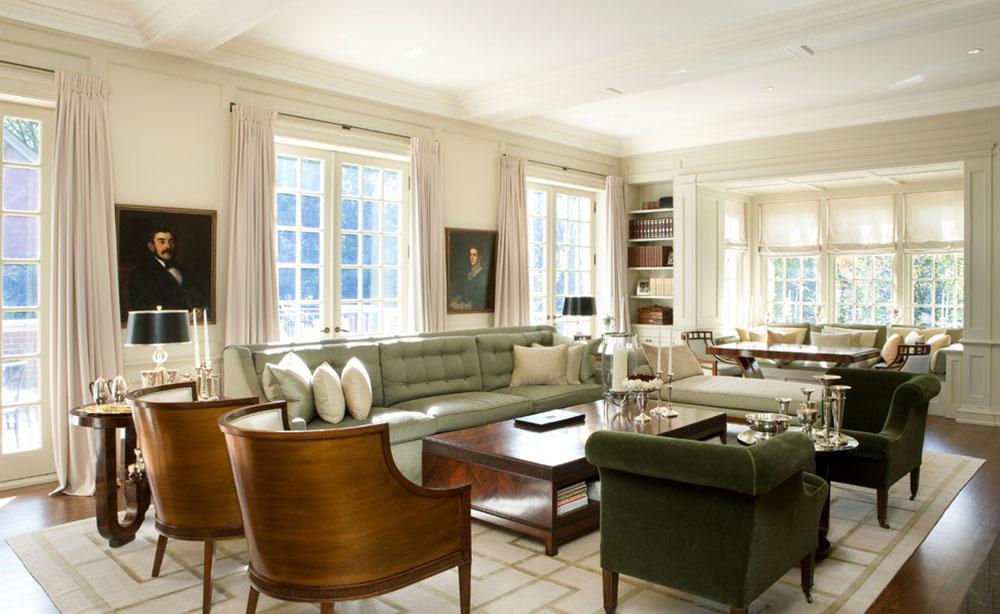 Lysande gröna nyanser för ditt vardagsrum 17 lysande gröna nyanser för ditt vardagsrum