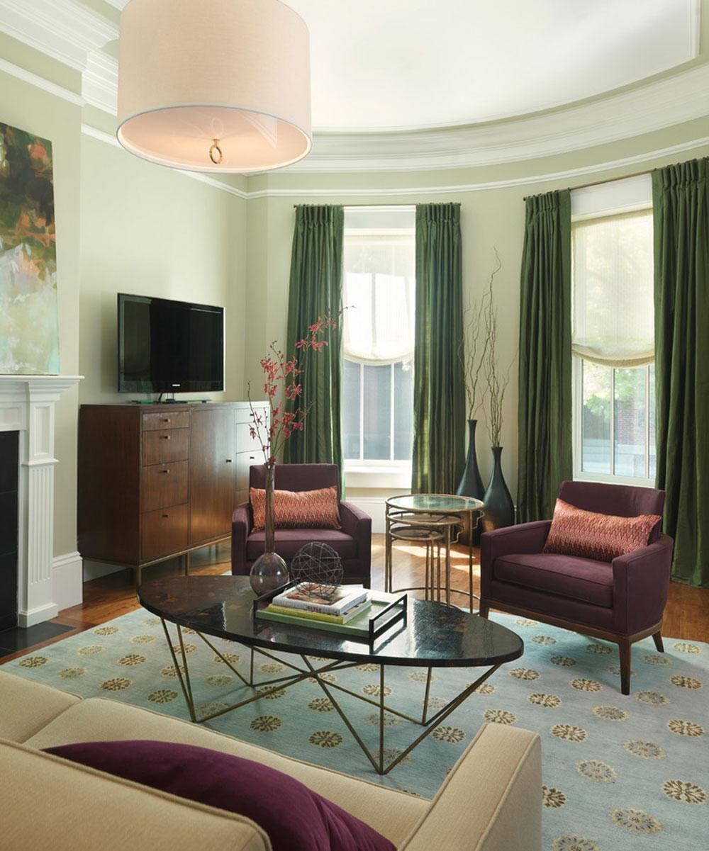 Briljanta nyanser av grönt för ditt vardagsrum3 Briljanta nyanser av grönt för ditt vardagsrum