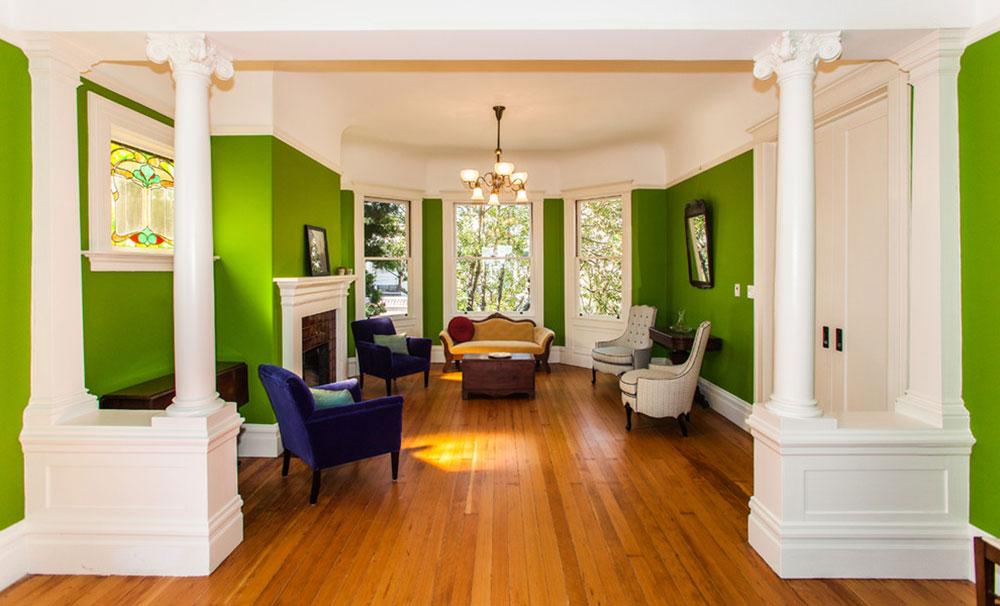 Strålande nyanser av grönt för ditt vardagsrum8 Strålande nyanser av grönt för ditt vardagsrum