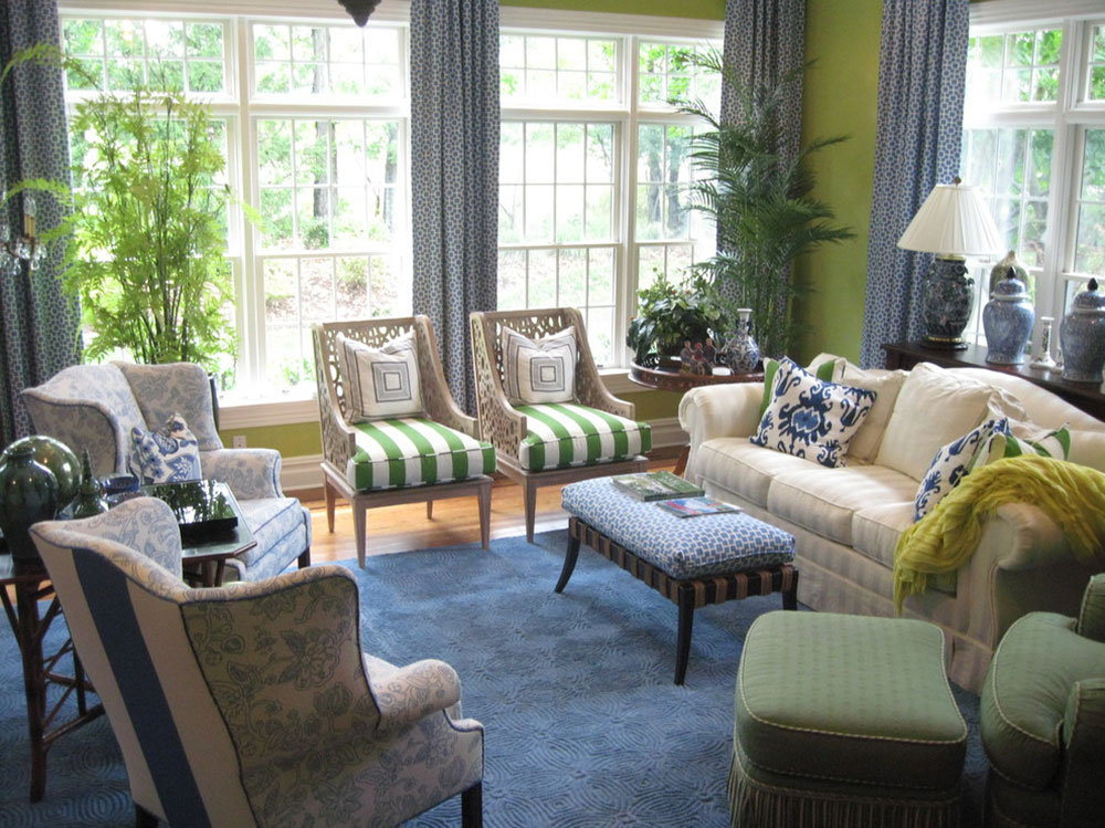 Lysande gröna nyanser för ditt vardagsrum 5 lysande gröna nyanser för ditt vardagsrum