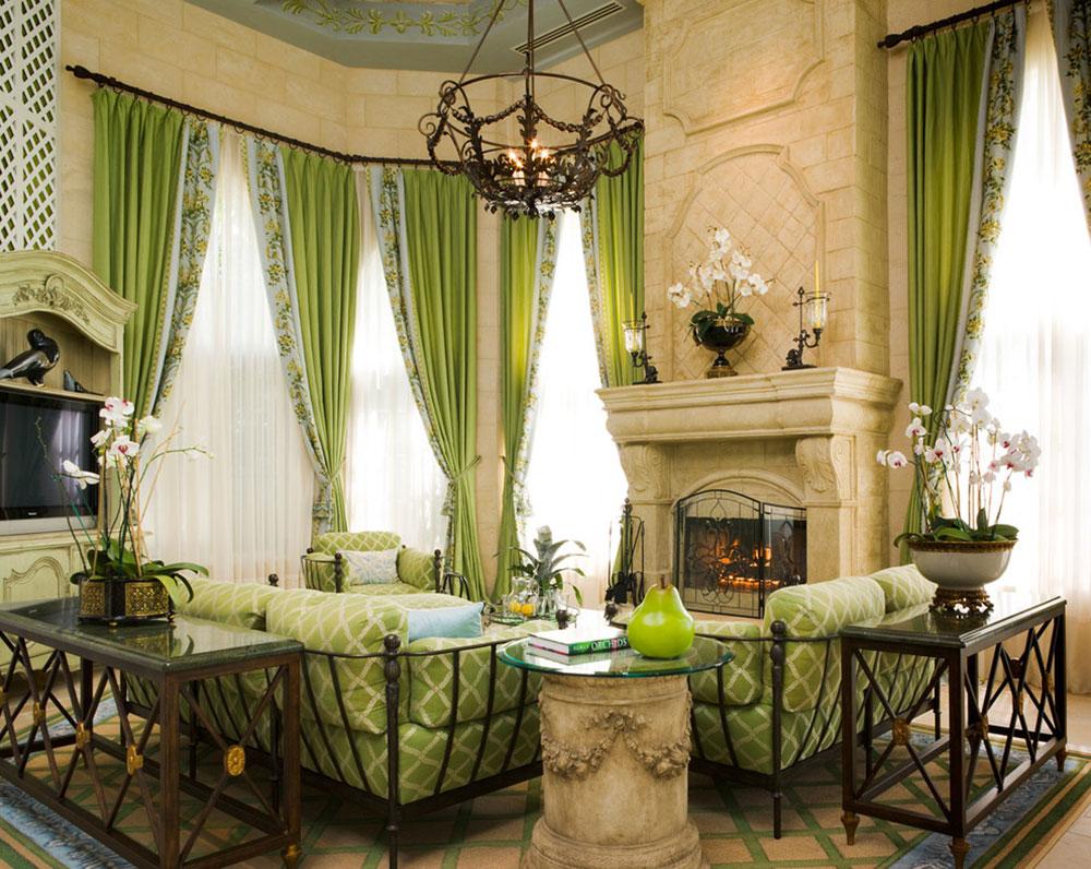 Lysande gröna nyanser för ditt vardagsrum 15 lysande gröna nyanser för ditt vardagsrum