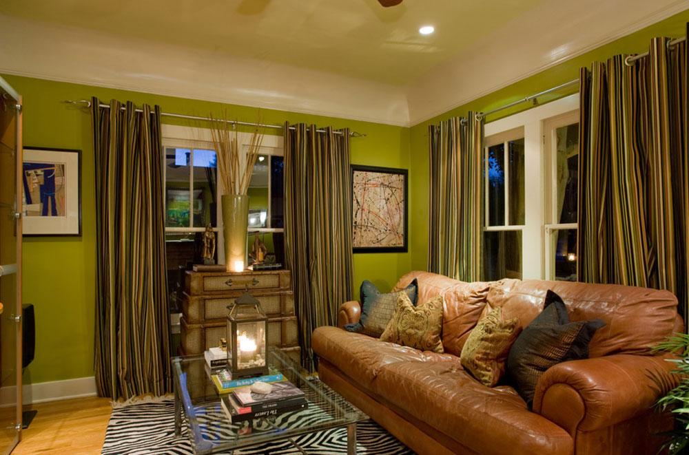 Lysande gröna nyanser för ditt vardagsrum 12 lysande gröna nyanser för ditt vardagsrum