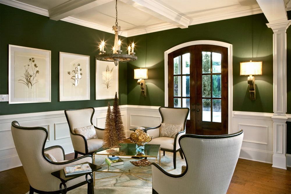 Strålande nyanser av grönt för ditt vardagsrum19 Briljanta nyanser av grönt för ditt vardagsrum